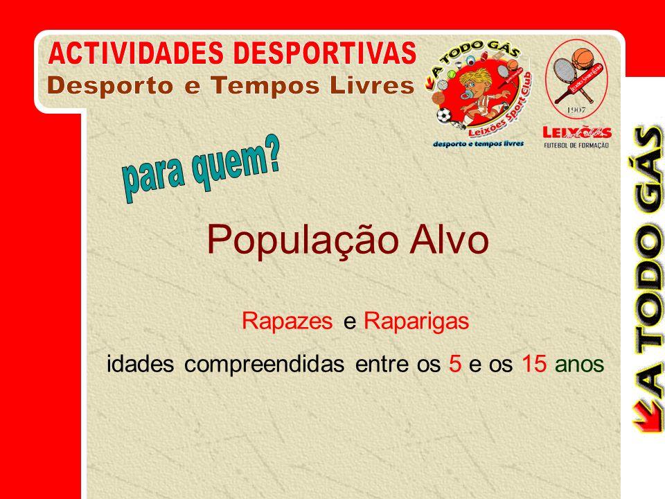 1.Ocupar as Férias escolares das crianças de Matosinhos (ocupação educativa) 2.