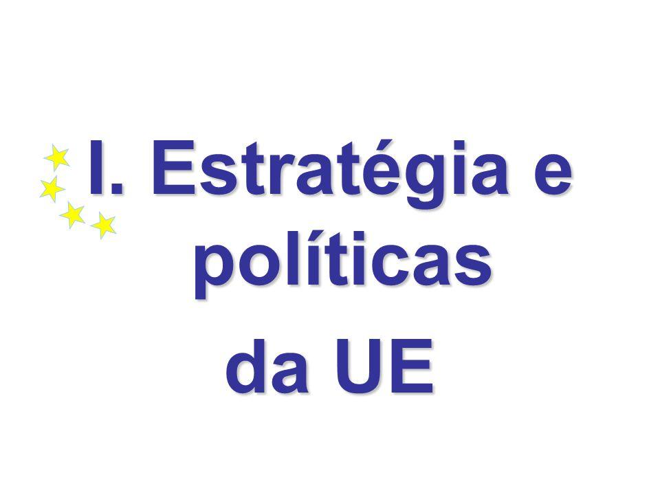 I. Estratégia e políticas da UE