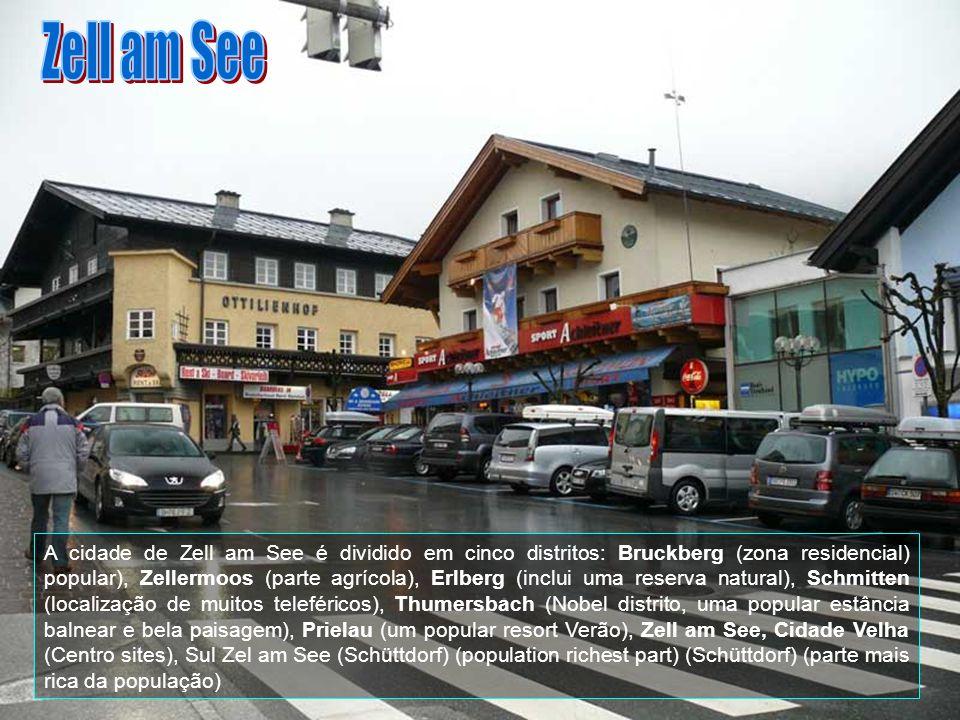 Zell am See já era povoada no tempo dos romanos. Em 740 dC, por ordem do Arcebispo Johannes (João) de Salzburgo, monges fundou a aldeia