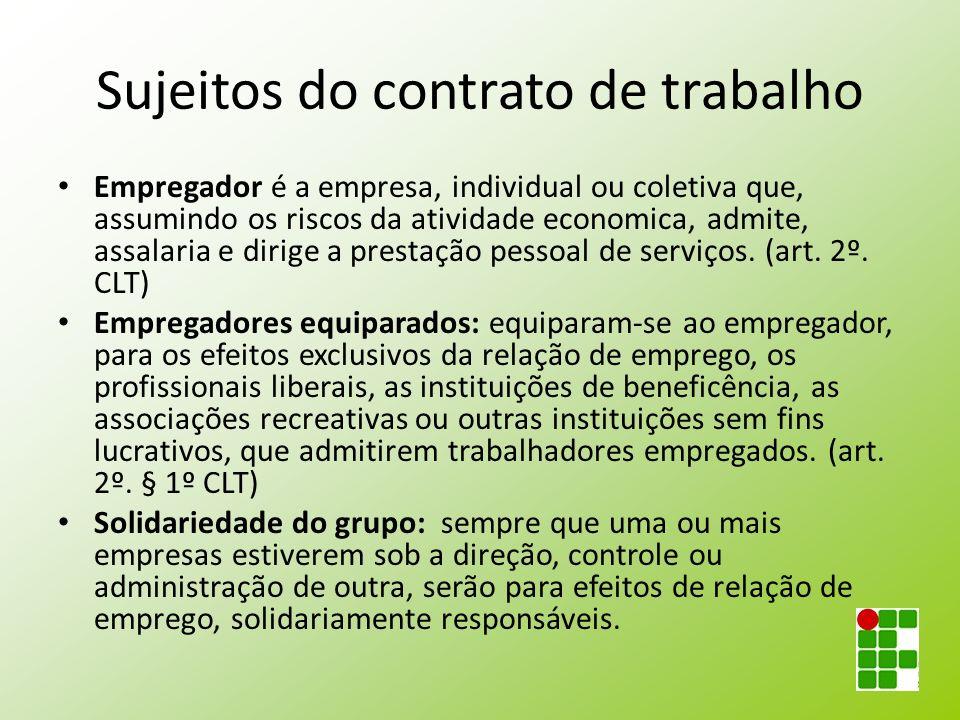 Rescisão indireta (art.