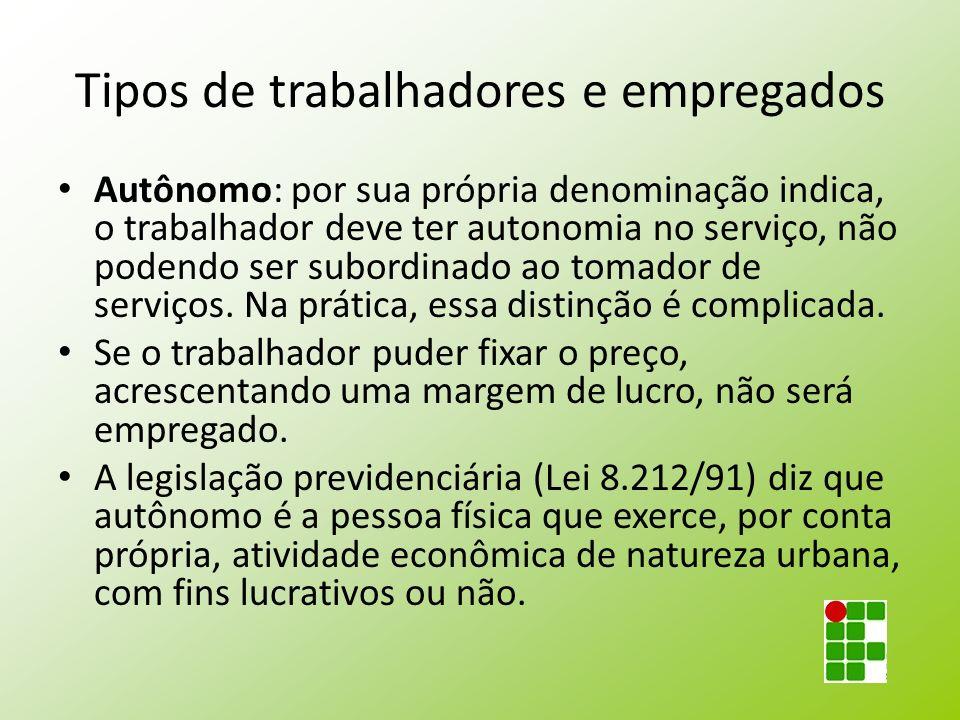 Tipos especiais de salário Abono: adiantamento dado pelo empregador (antecipação salarial).