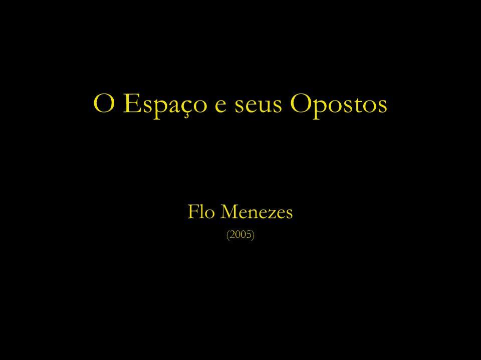 O Espaço e seus Opostos Flo Menezes (2005)