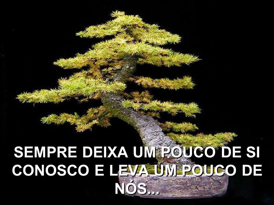 SIMPLESMENTE PORQUE CADA PESSOA QUE PASSA EM NOSSA VIDA É ÚNICA...