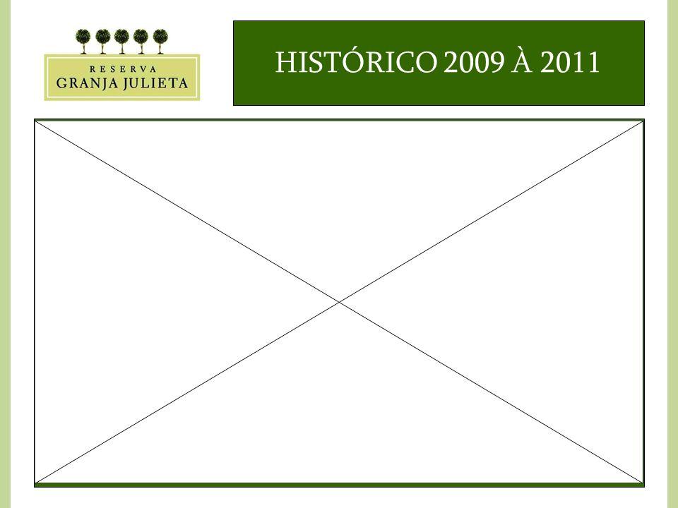 HISTÓRICO 2009 À 2011