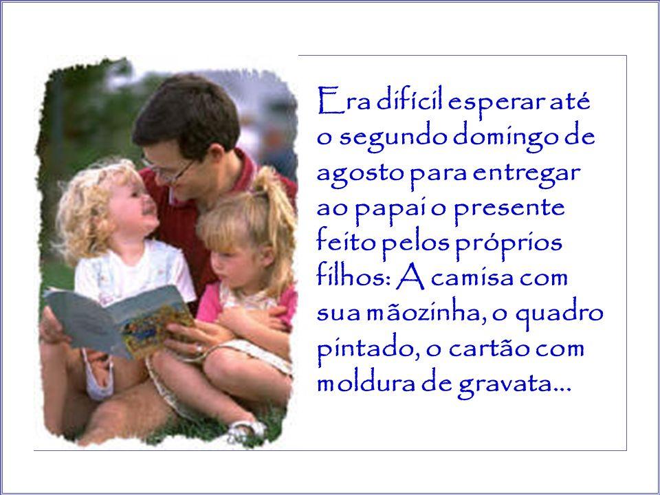 No dia das mães se reuniam na casa da avó e a cama se enchia de presentes dos filhos, dos netos…