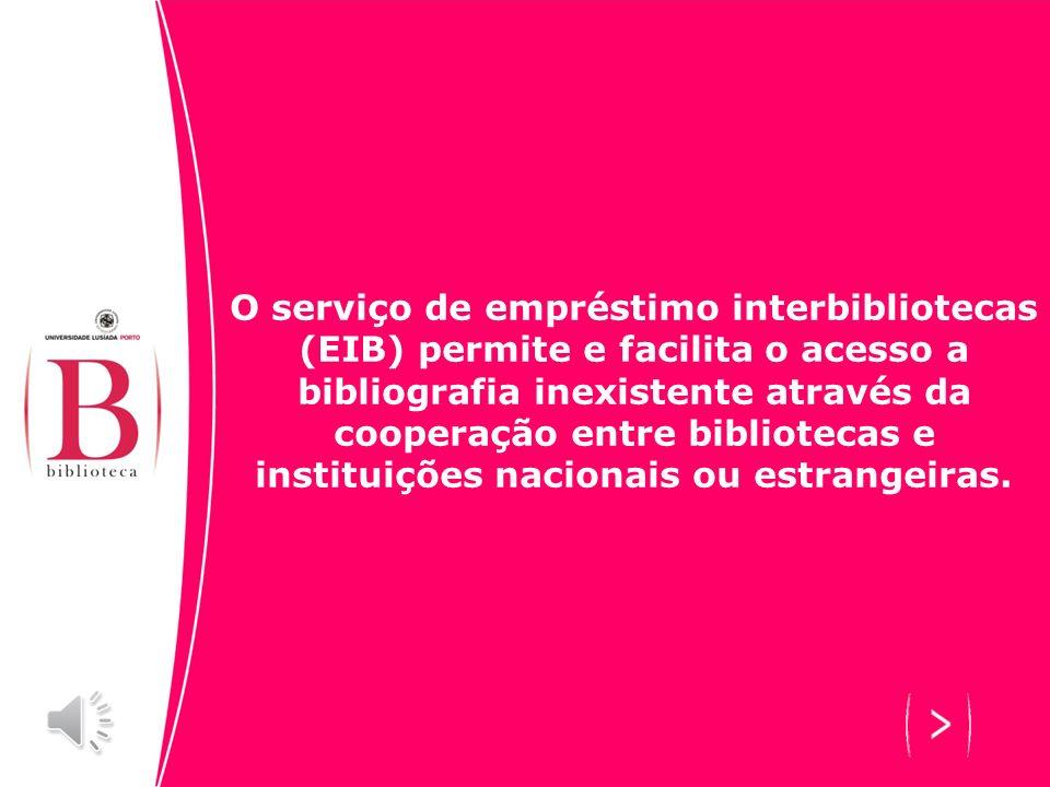 O que é o EIB?