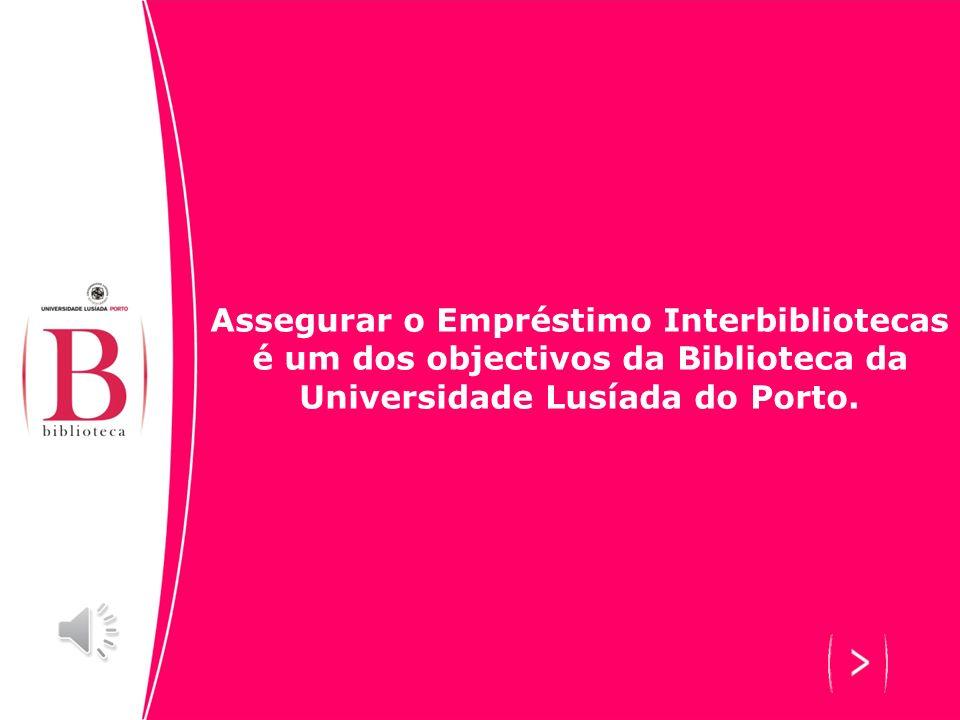 O serviço de empréstimo interbibliotecas (EIB) permite e facilita o acesso a bibliografia inexistente através da cooperação entre bibliotecas e instit