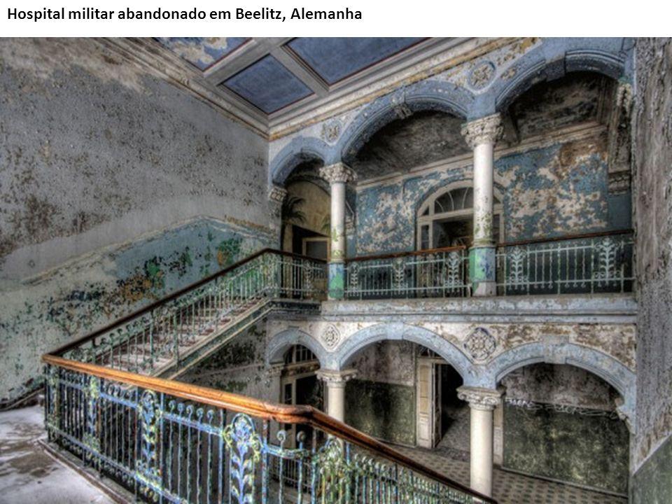 Hospital militar abandonado em Beelitz, Alemanha