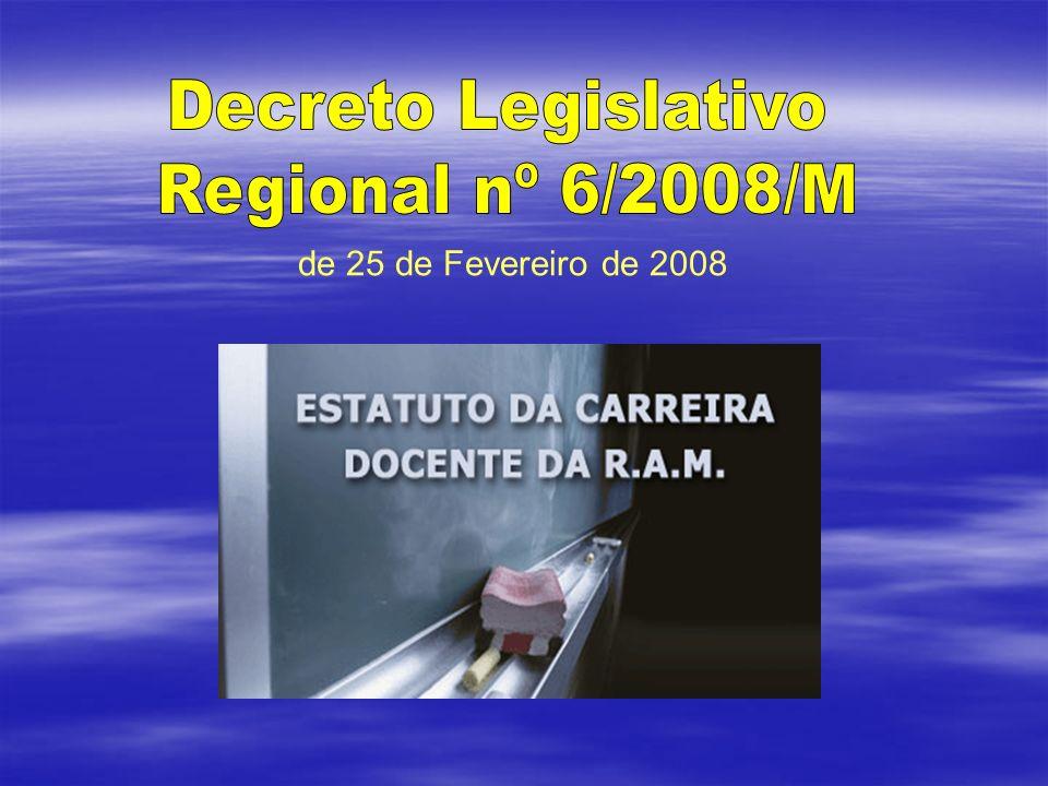 Preâmbulo O Estatuto é fruto do quadro de competências decorrentes do Estatuto Político-Administrativo e da revisão da Constituição da República Portuguesa de 2004 e da Lei de Bases do Sistema Educativo O Estatuto é fruto do quadro de competências decorrentes do Estatuto Político-Administrativo e da revisão da Constituição da República Portuguesa de 2004 e da Lei de Bases do Sistema Educativo Desenvolvimento e aprofundamento da Autonomia da Região Valorização da função de professor