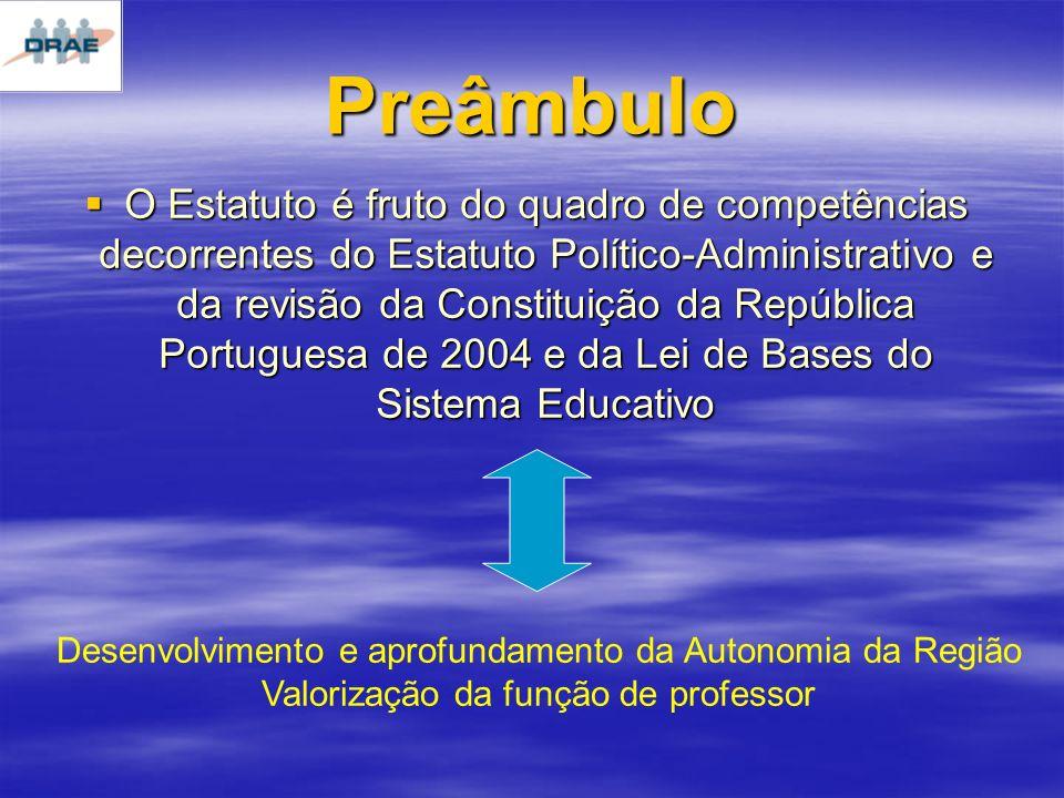Módulos de tempo de serviço docente nos escalões Escalões Tempo de Serviço 1º, 2º e 3º 5 anos 4º e 5º 4 anos 6º e 7º 6 anos