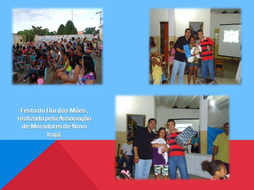 Festa do Dia das Mães, realizada pela Associação de Moradores de Novo Irajá.