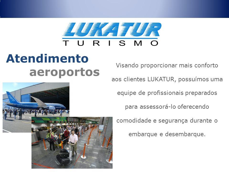 Visando proporcionar mais conforto aos clientes LUKATUR, possuímos uma equipe de profissionais preparados para assessorá-lo oferecendo comodidade e se