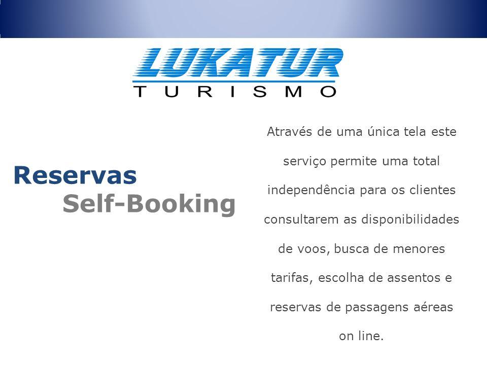 Através de uma única tela este serviço permite uma total independência para os clientes consultarem as disponibilidades de voos, busca de menores tari