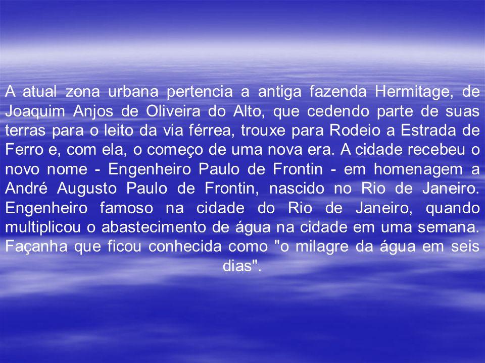 Inicialmente habitada pelos índios Tamoios, as terras que se estendiam pela Serra do Mar até o Vale do Paraíba, foram denominadas Rodeio pelos primeir