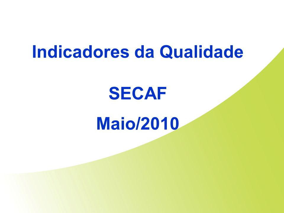 SECAF Maio/2010