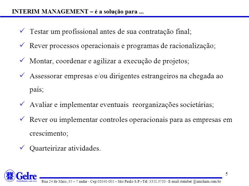 4 Redefinir modelos de gestão; Apoiar processos de turnaround de empresas; Promover up-grade de know-how ou salto tecnológico; Realizar Planejamento E