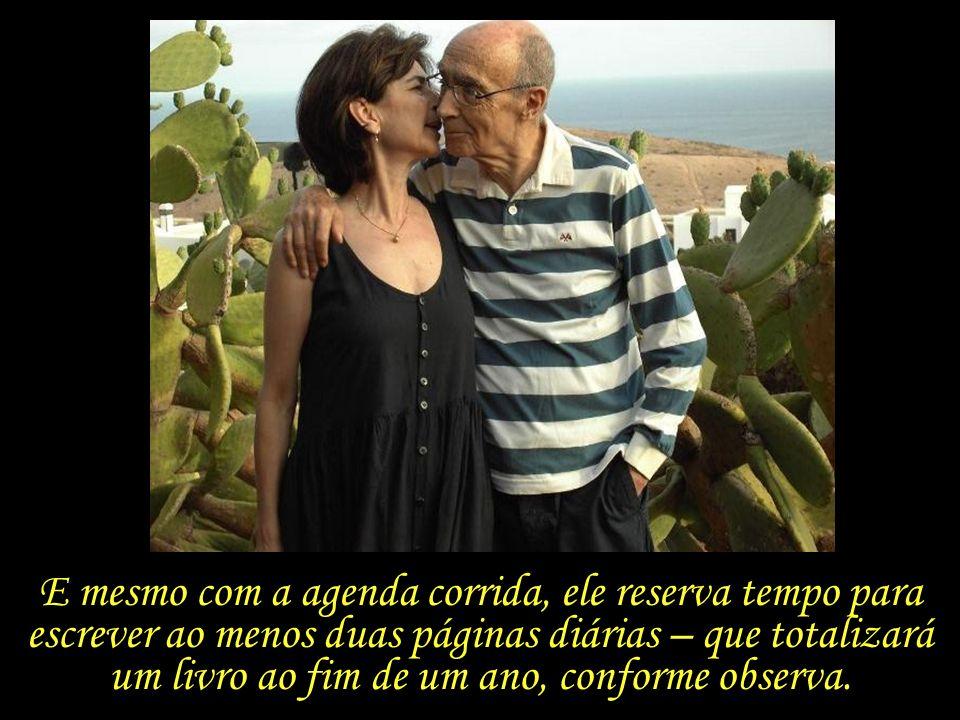 Pilar, se eu tivesse morrido aos 63 anos, antes de te conhecer, morreria muito mais velho do que serei quando chegar a minha hora. José Saramago Em me