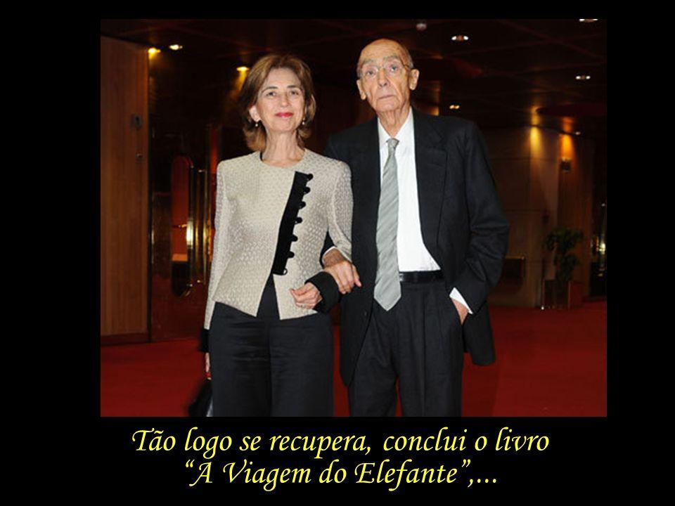 Em 2007, Saramago é hospitalizado durante longos meses, devido a uma grave doença respiratória.