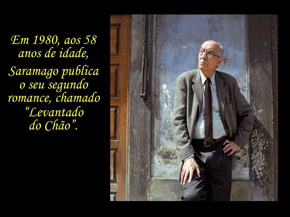 Em 1970, Saramago e Ilda Reis se divorciam. E em 1975, ao deixar a função de editorialista do jornal onde trabalha, resolve dedicar-se exclusivamente