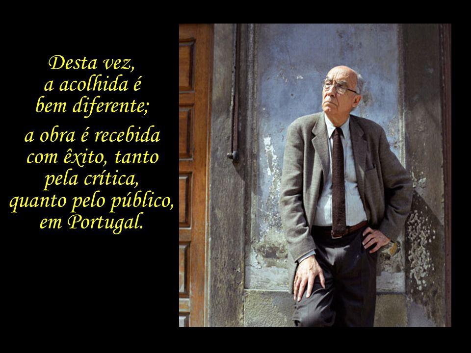 Em 1980, aos 58 anos de idade, Saramago publica o seu segundo romance, chamado Levantado do Chão.