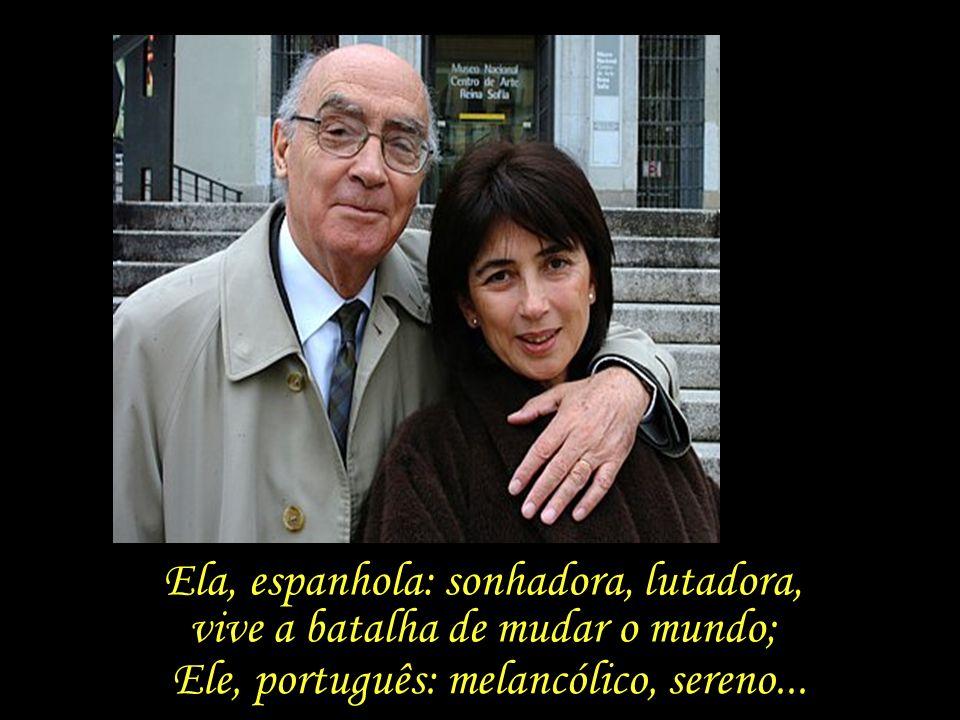 Saramago observa que aos 63 anos, quando já não se espera nada, encontrou o que faltava para passar a ter tudo – Pilar.