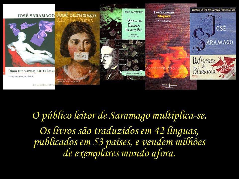 Com a conquista do prêmio Nobel, inicia-se uma nova fase na vida de Saramago e Pilar.