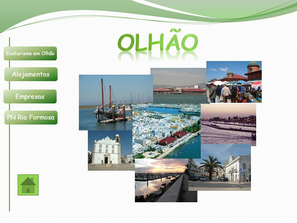 Olhão é uma região com um enorme potencial na área do Ecoturismo.