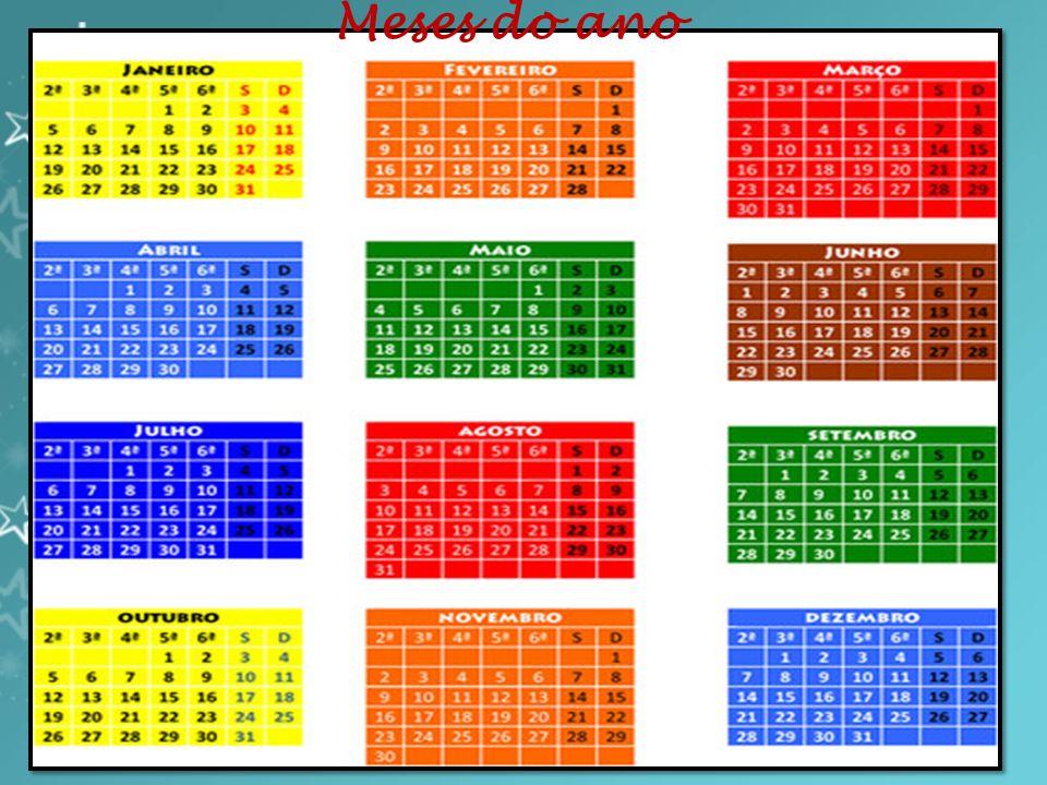 Julho: É o sétimo mês do ano no Calendário Gregoriano, tendo a duração de 31 dias.