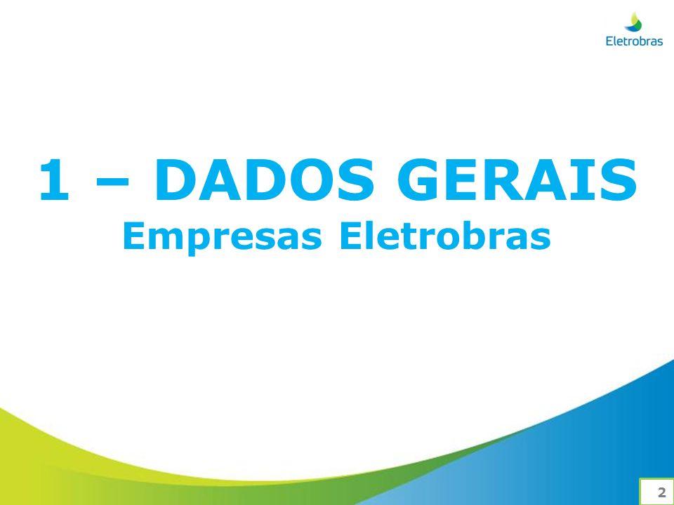 1 – DADOS GERAIS Empresas Eletrobras 2