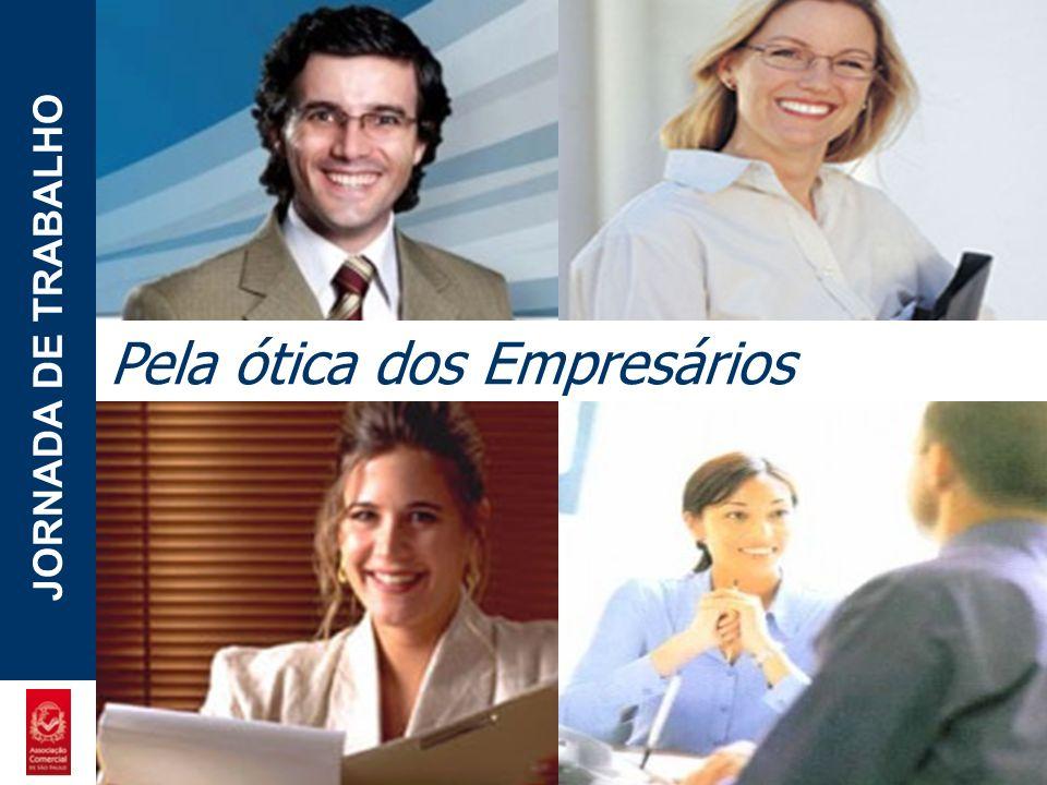 POTENCIAL - LUZIA JORNADA DE TRABALHO Pela ótica dos Empresários