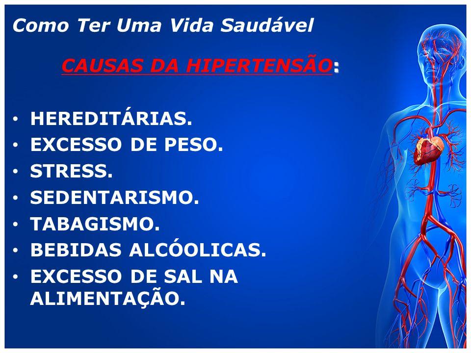 Como Ter Uma Vida Saudável : CAUSAS DA HIPERTENSÃO: HEREDITÁRIAS.