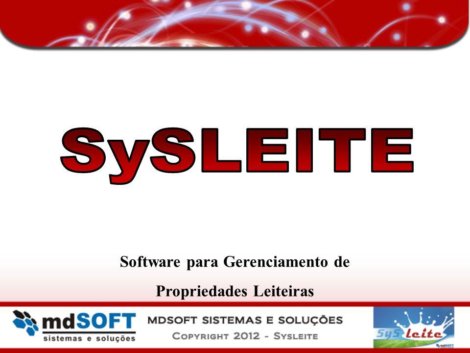 Software para Gerenciamento de Propriedades Leiteiras