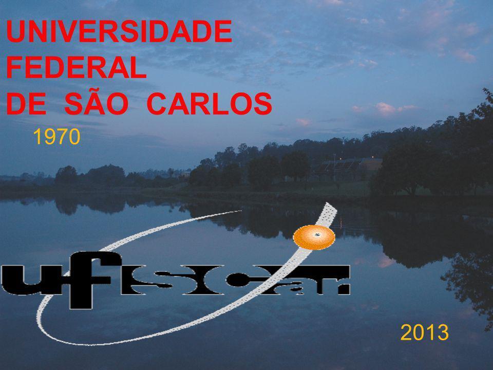 UNIVERSIDADE FEDERAL DE SÃO CARLOS 1970 2013