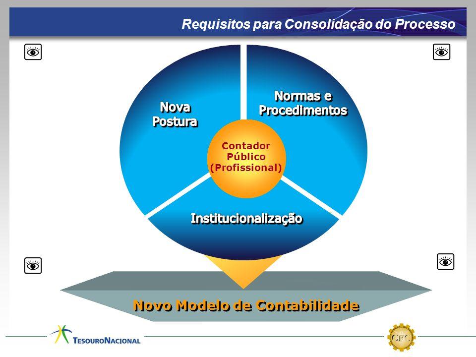 Novo Modelo de Contabilidade Contador Público (Profissional) Requisitos para Consolidação do Processo