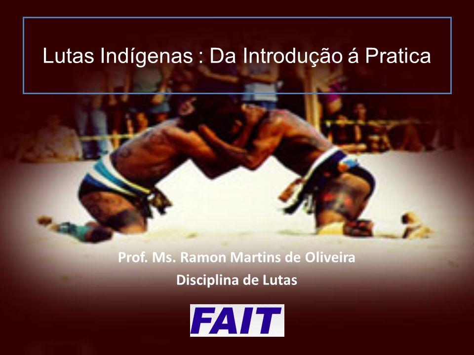 Lutas Indígenas : Da Introdução á Pratica Prof.Ms.