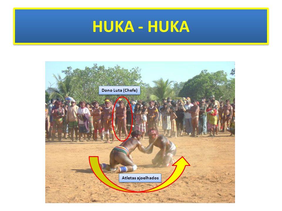 HUKA - HUKA Atletas ajoelhados Dono Luta (Chefe)