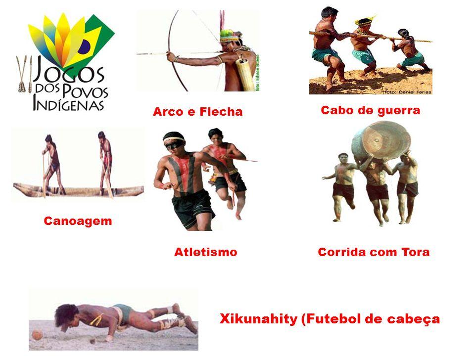 Arco e Flecha Cabo de guerra Canoagem Atletismo Corrida com Tora Xikunahity (Futebol de cabeça