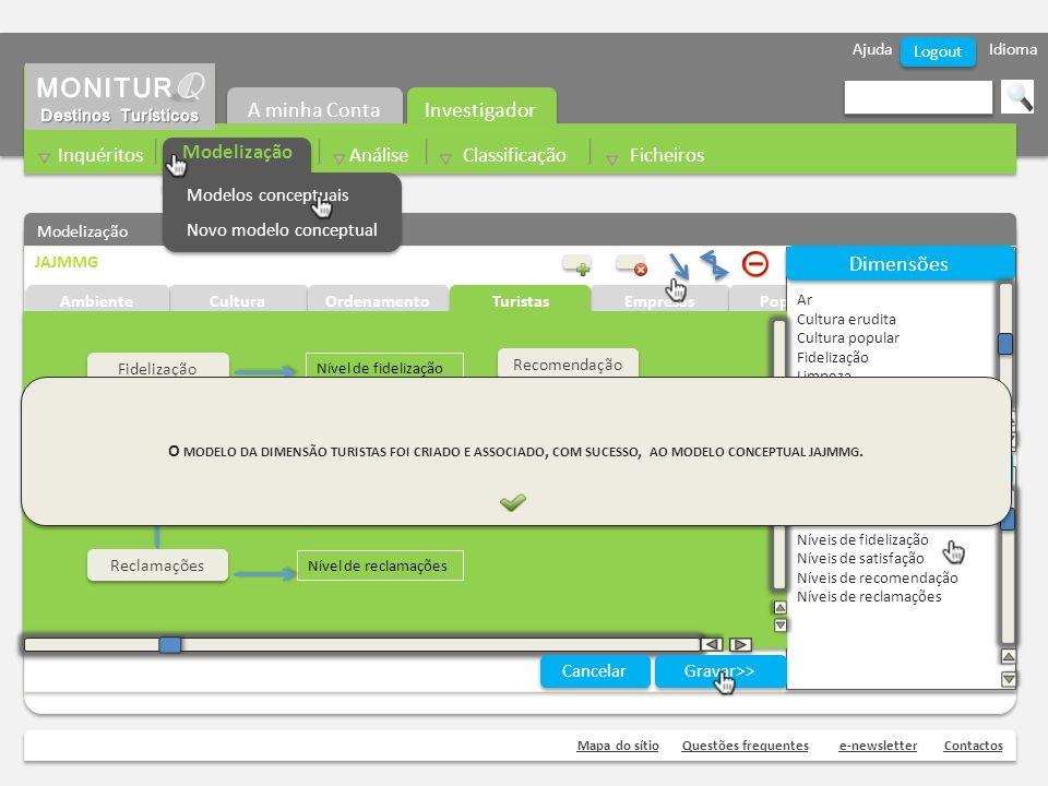 Ajuda Idioma Mapa do sítioQuestões frequentese-newsletterContactos Logout Modelização JAJMMG Cultura Ambiente Ordenamento Empresas Níveis de fidelizaç