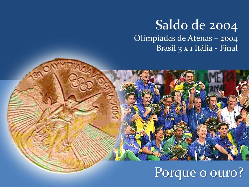 Geração de Prata Olimpíadas de Los Angeles – 1984 Brasil 0 x 3 USA - Final Porque não o ouro?