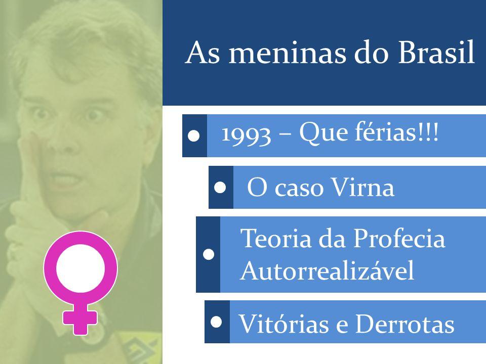 As meninas do Brasil 1993 – Que férias!!.