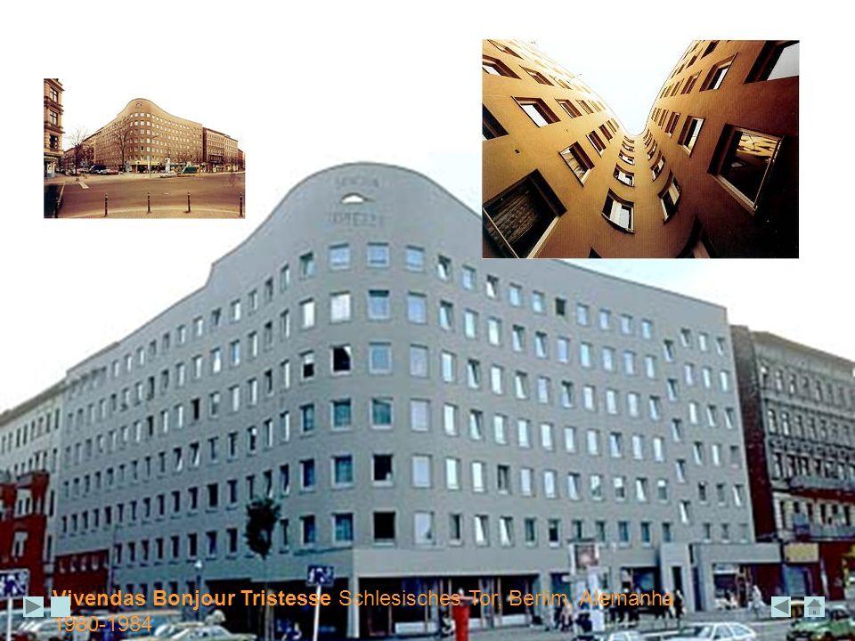Vivendas Bonjour Tristesse Schlesisches Tor, Berlim, Alemanha 1980-1984
