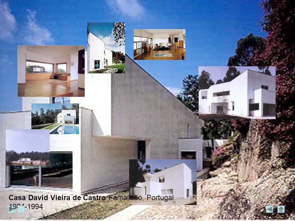 Casa David Vieira de Castro Famalicão, Portugal 1984-1994