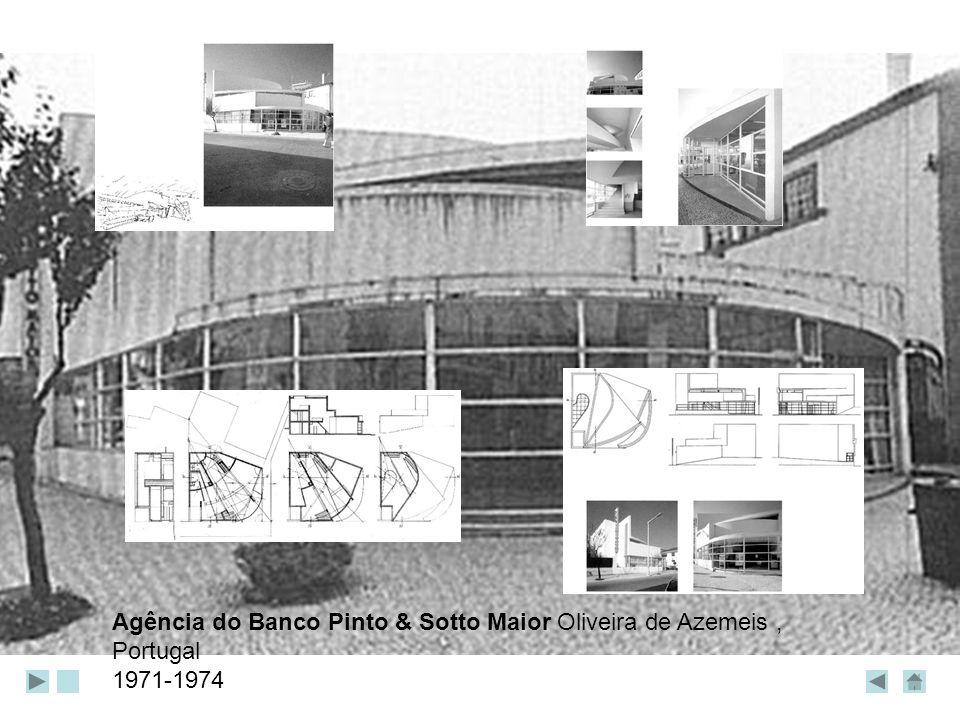 Agência do Banco Pinto & Sotto Maior Oliveira de Azemeis, Portugal 1971-1974