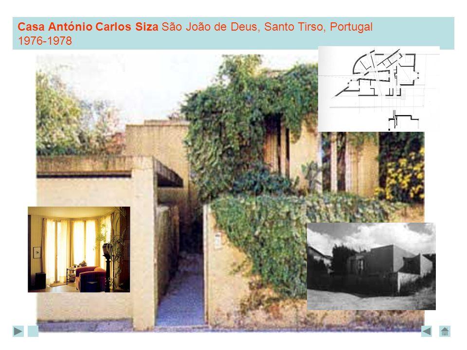 Casa António Carlos Siza São João de Deus, Santo Tirso, Portugal 1976-1978