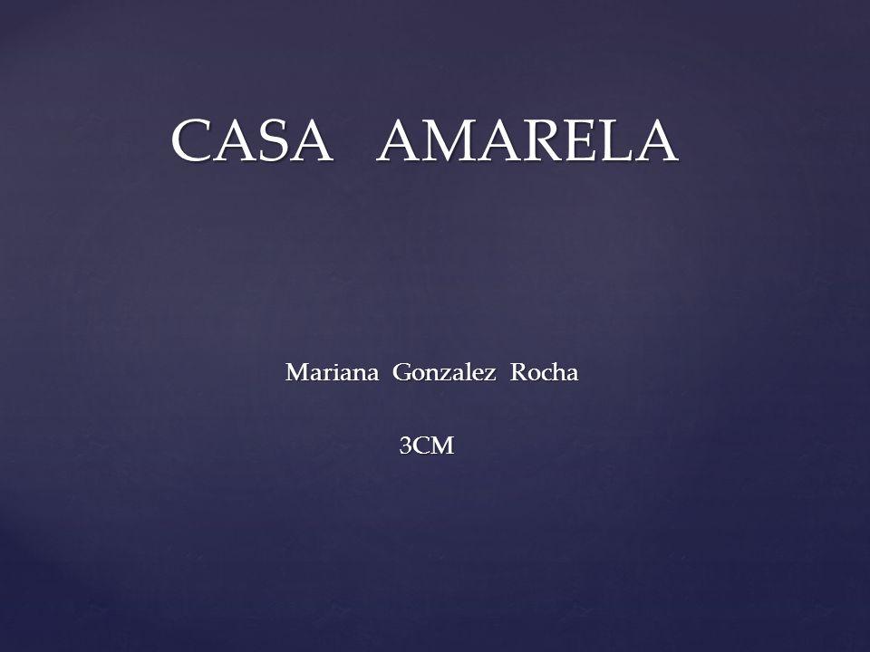 Mariana Gonzalez Rocha Mariana Gonzalez Rocha 3CM 3CM CASA AMARELA CASA AMARELA