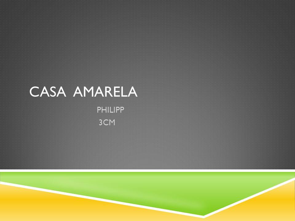 CASA AMARELA PHILIPP 3CM
