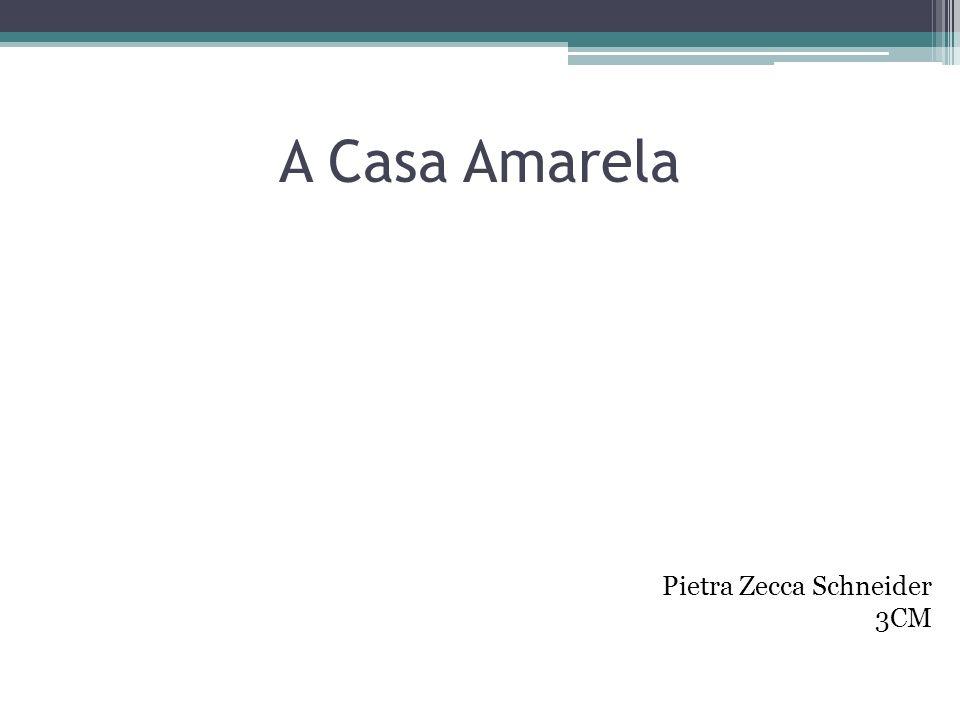 A Casa Amarela Pietra Zecca Schneider 3CM