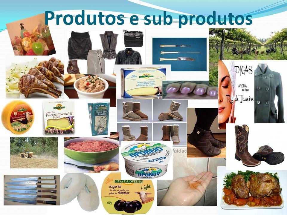 Produtos e sub produtos