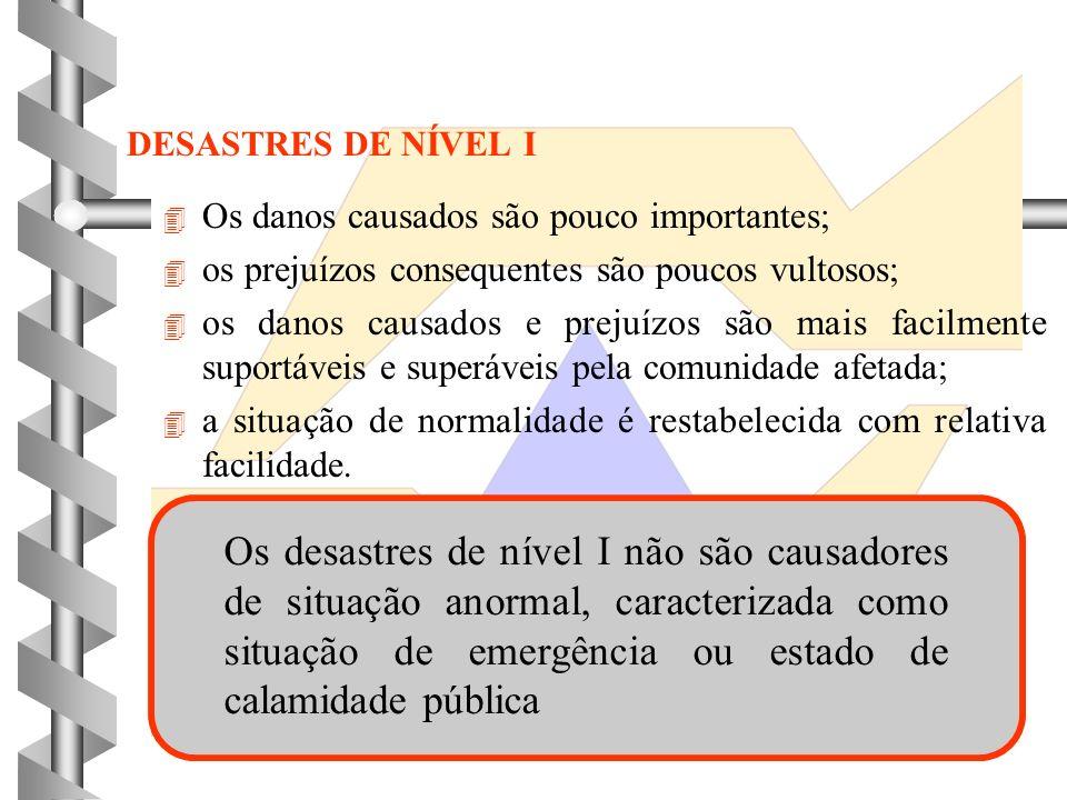 CLASSIFICAÇÃO DE DESASTRES NATURAIS HUMANOS MISTOS ORIGEM