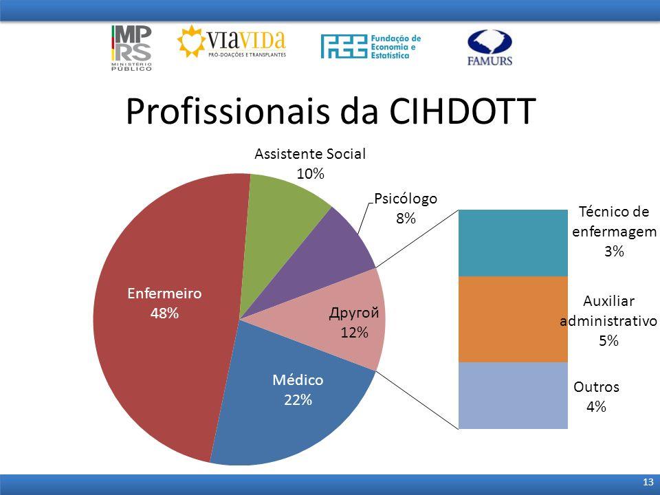Profissionais da CIHDOTT 13